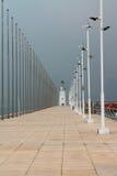 Причал в Qingdao стоковое изображение rf