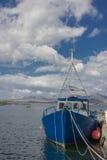 Причаленный на connemara стоковое фото rf