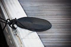 причаливать морскую веревочку Стоковое Изображение