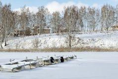 Причаливать для моторных лодок Стоковое Фото