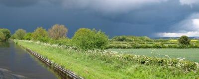 причаливая шторм Стоковое Фото