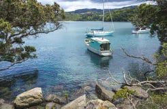 Причал Новая Зеландия пункта ti стоковое фото