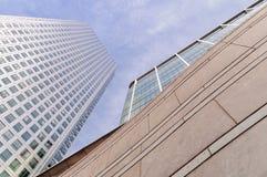 причал london самомоднейший Великобритании зданий канереечный Стоковое Фото