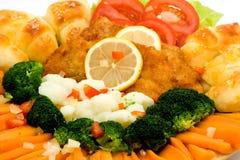 причудливая еда Стоковые Фотографии RF