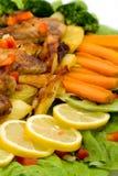 причудливая еда Стоковое Изображение RF