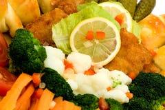 причудливая еда Стоковые Изображения RF