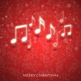 Причудливая рождественская открытка Стоковые Фото