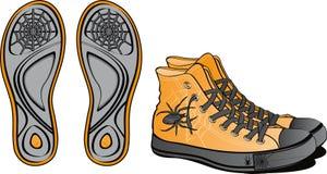 причудливые ботинки пар Стоковая Фотография RF