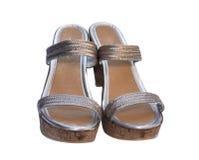 причудливые ботинки Стоковое фото RF