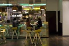 Причудливый бар отеля Стоковые Фото