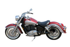 причудливый мотоцикл Стоковое Фото