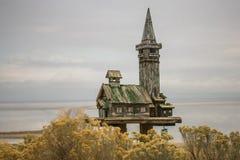 Причудливый Birdhouse на парке островного государства антилопы стоковое изображение