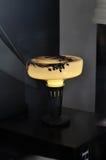 Причудливая лампа стеклянного стола Стоковое Изображение RF