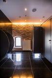 Причудливая общественная ванная комната Стоковое фото RF