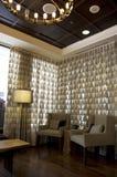 Причудливое лобби гостиницы стоковое изображение