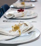 Причудливые плиты обедающего Стоковые Фотографии RF