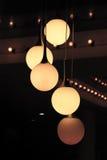 Причудливые света, Бангкок Стоковое Изображение RF
