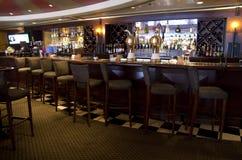 Причудливый бар-ресторан стоковое изображение