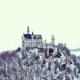Причудливый замок Стоковое Фото
