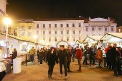 Пришествие в Загребе, Хорватии 2016 Стоковая Фотография RF