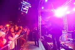 Пришествие в Загребе, Хорватии 2016 Стоковые Изображения RF