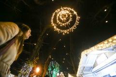 Пришествие в Загребе, Хорватии 2016 Стоковые Фотографии RF