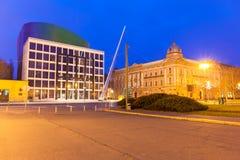 Пришествие в Загребе Стоковое Фото