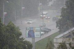 Пришл перед центром города Ulyanovsk стоковые изображения rf