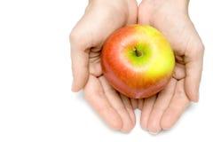 приющенное яблоко Стоковое Фото