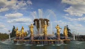 Приятельство фонтана фонтана наций стоковые фото