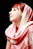 приятная женщина портрета Стоковые Изображения RF