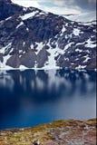 Приятный внешний вид над горами Dalsnibba в Норвегии Стоковая Фотография RF