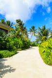 Приятный климат острова Стоковое фото RF