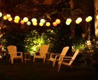 Приём гостей в саду Стоковая Фотография