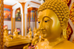 придавать правильную формуый конец Будды Стоковое Изображение RF