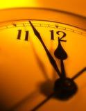 придавать правильную формуый конец часов Стоковые Изображения