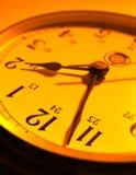 придавать правильную формуый конец часов Стоковое фото RF