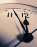 придавать правильную формуый конец часов Стоковая Фотография RF