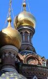 придает куполообразную форму: золотистое Стоковое Изображение RF
