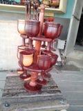 придает форму чашки деревянное стоковые фотографии rf