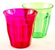 придает форму чашки пластмасса Стоковые Изображения