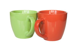 придает форму чашки чай 3 поддонников Стоковое Изображение RF