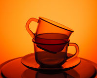 придает форму чашки чай Стоковое Изображение RF
