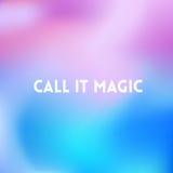 Придайте квадратную форму запачканной предпосылке - современным передвижным цветам с цитатой мотировать Стоковая Фотография RF