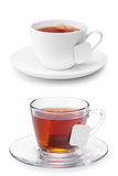 придайте форму чашки мой чай Стоковое Фото
