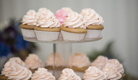Придайте форму чашки торты Стоковые Фото