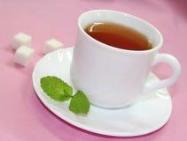 придайте форму чашки чай сахара Стоковое Изображение RF