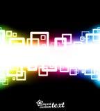 приданная квадратную форму конструкция абстракций Стоковое Изображение RF