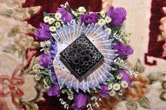 Приданое свадьбы Malay стоковое изображение rf