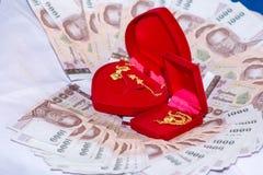 Приданое для свадебной церемонии культура Таиланд стоковые фотографии rf